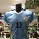 Coleccionismo deportivo: CAMISETA DE URUGUAY SELECCION URUGUAYA DE FUTBOL. DORSAL 10. FORLAN. TALLA S. TDKDEP16. Lote 146414994