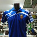 Coleccionismo deportivo: CAMISETA DEL REAL ZARAGOZA. ADIDAS. TALLA M-L. AZUL. TDKDEP16. Lote 146415610