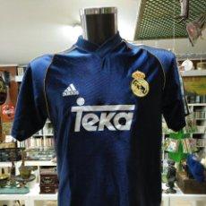 Coleccionismo deportivo: CAMISETA DEL REAL MADRID CLUB DE FUTBOL. DORSAL 17 ROBERT JARNI. ADIDAS OFICIAL. TALLA 176. TDKDEP16. Lote 146416358