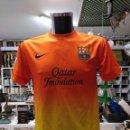 Coleccionismo deportivo: CAMISETA DEL F.C. BARCELONA. BARSA. DORSAL 10 MESSI. SEGUNDA EQUIPACION. TALLA M? TDKDEP16. Lote 146416574