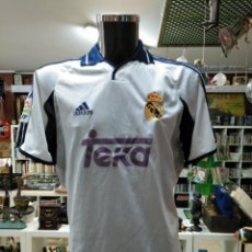 Coleccionismo deportivo: CAMISETA DEL REAL MADRID CLUB DE FUTBOL. SIN DORSAL ADIDAS TEKA. TALLA S OFICIAL. TDKDEP16. Lote 146417418