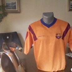 Coleccionismo deportivo: FC BARCELONA. REPLICA WEMBLEY 92. ANIVERSARIO. TALLA L.. Lote 146460964