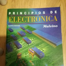 Coleccionismo deportivo: PRINCIPIOS DE LA ELECTRONICA MALVINO LIBRO BOOK. Lote 207264468