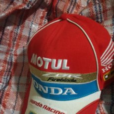 Collectionnisme sportif: CBR HONDA MOTOGP GORRA CAP MOTO RACING SUPERBIKES . Lote 146582866