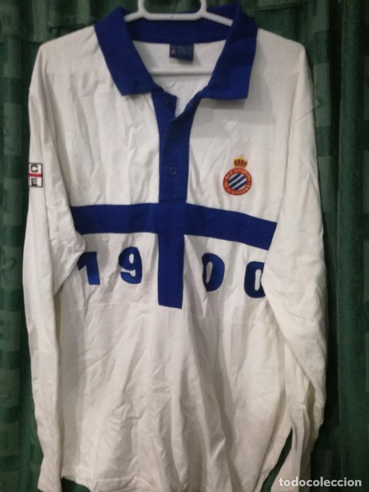 e17cf10ab82ff RCD ESPANYOL XL FUTBOL FOOTBALL CAMISETA SHIRT (Coleccionismo Deportivo -  Ropa y Complementos - Camisetas