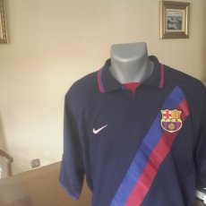 Sports collectibles - Camiseta FC Barcelona años 2002. Talla. L. - 147408426