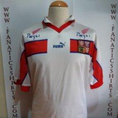 Coleccionismo deportivo: CAMISETA FUTBOL REPUBLICA CHECA #18 (CZECH) 1998 PUMA. Lote 147684422