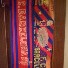 Coleccionismo deportivo: FC BARCELONA SCARF FOOTBALL BUFANDA FUTBOL LOTE . Lote 147760478