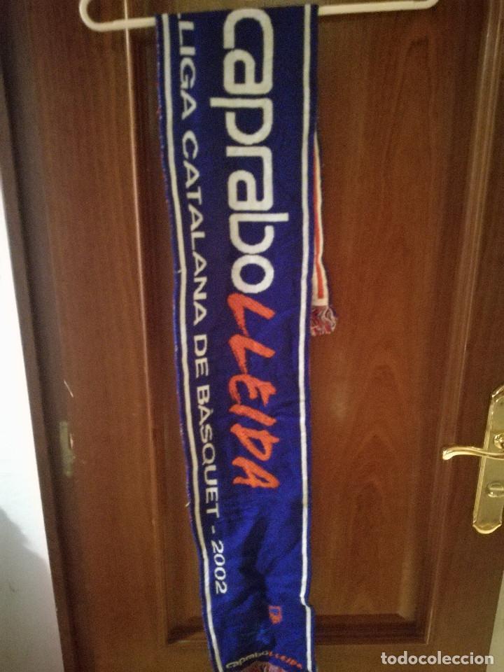 CAPRABO LLEIDA DISSOLVED BASKET BASQUET SCARF FOOTBALL BUFANDA FUTBOL LOTE (Coleccionismo Deportivo - Ropa y Complementos - Camisetas de Fútbol)