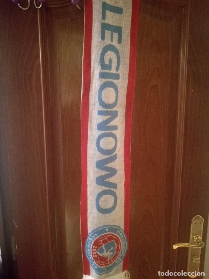 LEGIONOWO HANDBOL HANDBALL BALONMANO POLAND POLSKI SCARF FOOTBALL BUFANDA FUTBOL LOTE (Coleccionismo Deportivo - Ropa y Complementos - Camisetas de Fútbol)