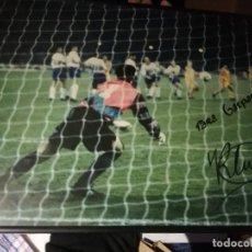 Coleccionismo deportivo: FOTO OFICIAL GOAL FINAL FC BARCELONA SAMPDORIA SIGNED BIG PHOTOGRAPHY FOOTBALL FUTBOL . Lote 147763934