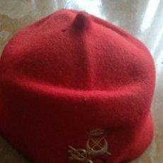 Coleccionismo deportivo: BOINA GORRA MILITAR REGIONALES LA LEGION MELILLA ESPAÑA SPAIN SOLDIER CAP . Lote 147764382