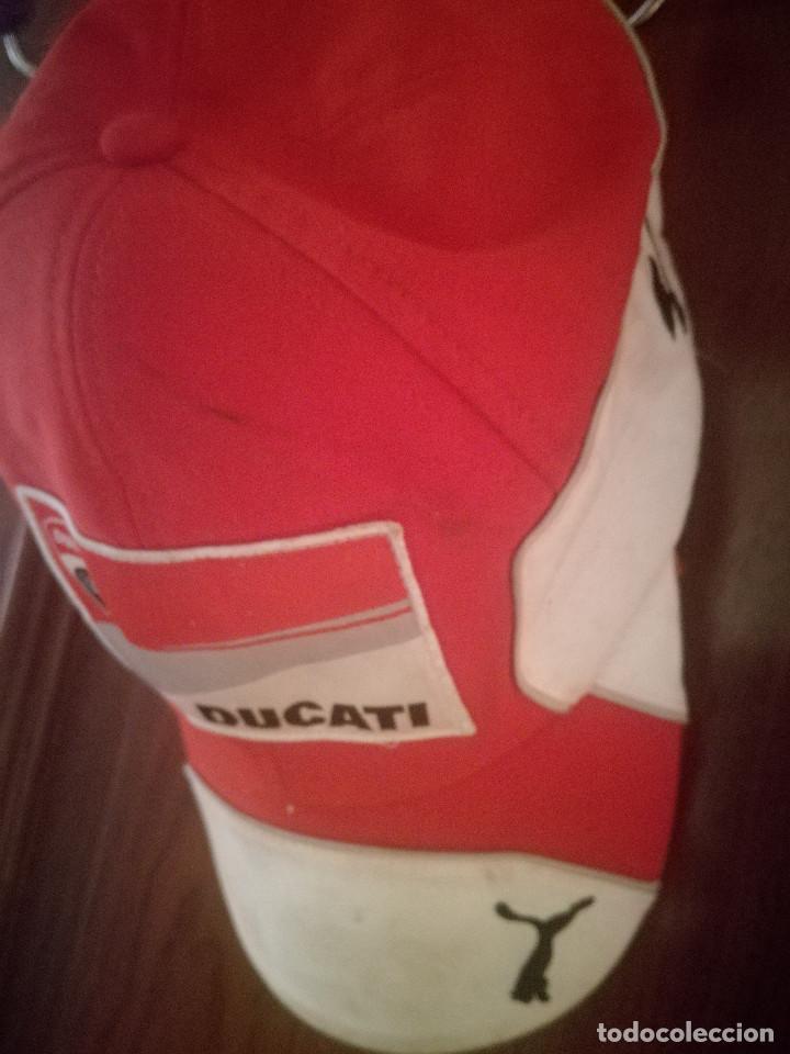 GORRA CAP RACING DUCATI (Coleccionismo Deportivo - Ropa y Complementos - Camisetas de Fútbol)