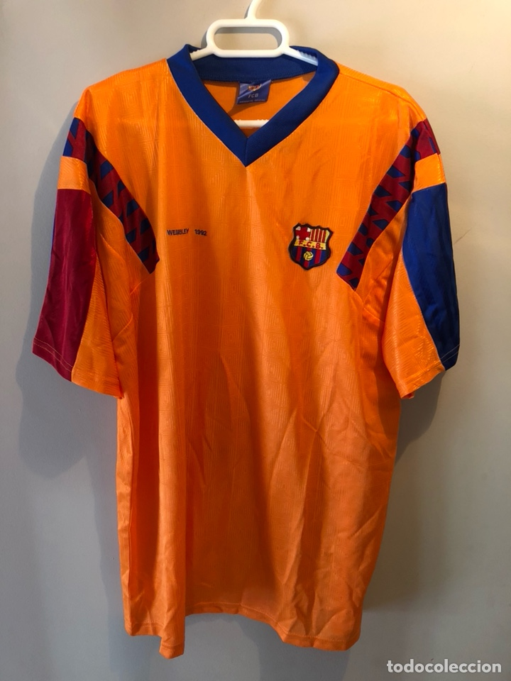 CAMISETA F.C. BARCELONA WEMBLEY 1992 (Sammelleidenschaft Sport - Bekleidung und Zubehör - Fußball T-Shirts)