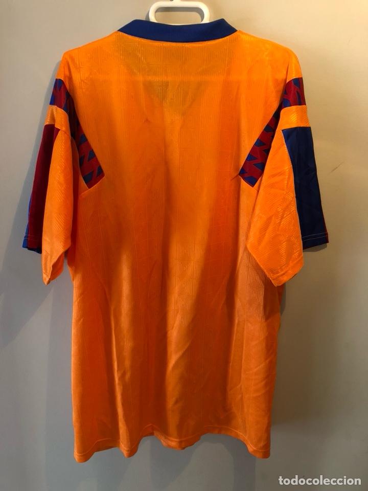 Sammelleidenschaft Sport: CAMISETA F.C. BARCELONA WEMBLEY 1992 - Foto 3 - 147772817