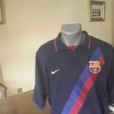 Coleccionismo deportivo: FC BARCELONA. LOTE 3 CAMISAS AÑOS 2000. RARAS. TALLAS L.. Lote 147931992