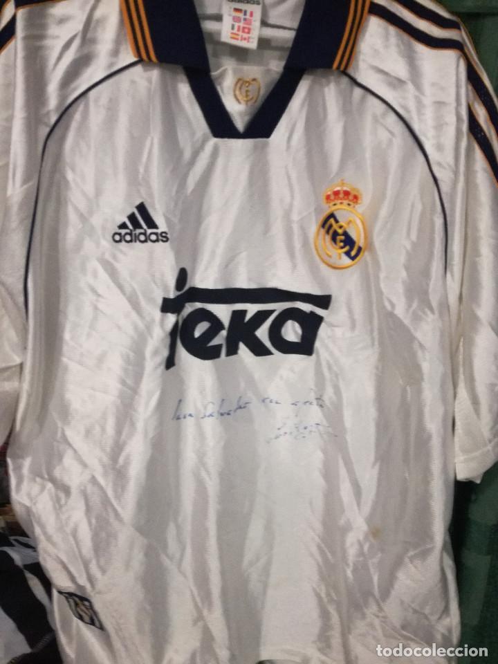 online store 302a5 0dda4 ROBERTO CARLOS SIGNED L REAL MADRID camiseta futbol football shirt