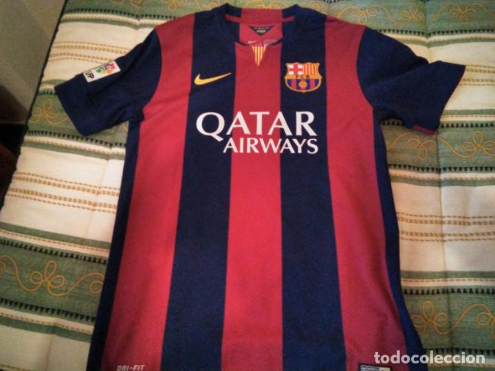 2f9e754d28 Camiseta f.c. barcelona temporada 2014-15. shir - Vendido en Venta ...