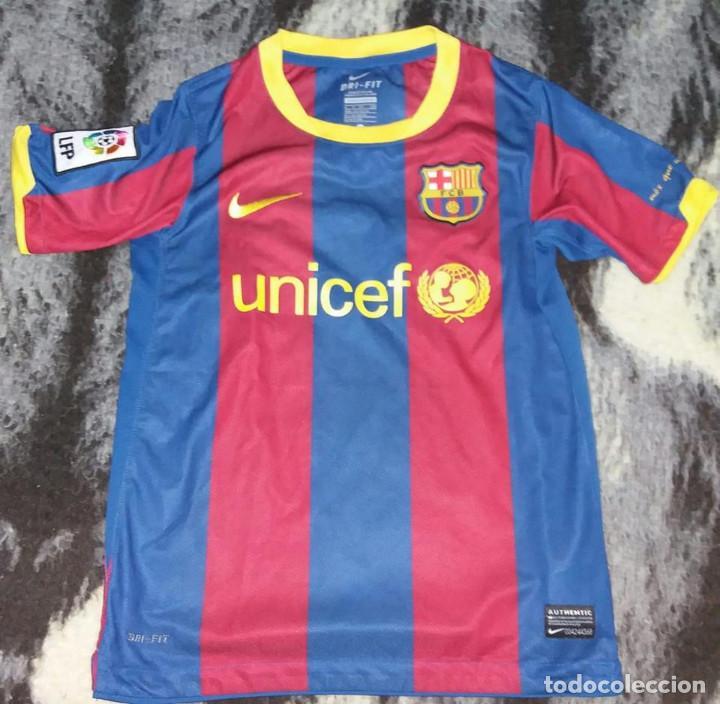 259dfc03ce CAMISETA FUTBOL CLUB BARCELONA NIKE TALLA S VER MEDIDAS (Coleccionismo  Deportivo - Ropa y Complementos