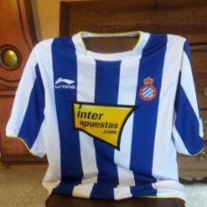 Coleccionismo deportivo: CAMISETA RCD ESPANYOL ESPAÑOL TEMPORADA 2010 2011 TALLA XL. Lote 148818190