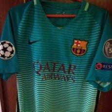 Coleccionismo deportivo: LUIS SUAREZ FC BARCELONA CHAMPIONS M CAMISETA FUTBOL FOOTBALL SHIRT. Lote 151483677