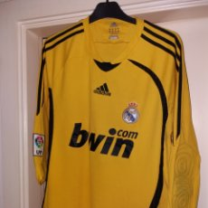 Sports collectibles - Camiseta portero REAL MADRID - Talla M - Adidas - 149697569