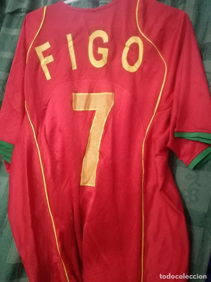Coleccionismo deportivo: LUIS FIGO PORTUGAL XL futbol football camiseta shirt - Foto 2 - 149966518