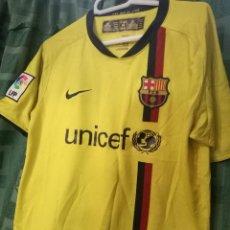Collezionismo sportivo: FC BARCELONA AGE 12/13 CAMISETA FUTBOL FOOTBALL SHIRT . Lote 150132370