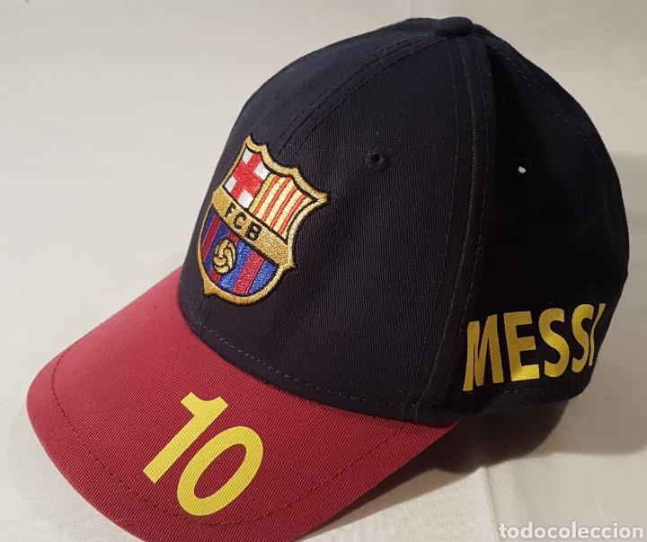 GORRA OFICIAL FUTBOL CLUB BARCELONA MESSI 10 (Coleccionismo Deportivo -  Ropa y Complementos - Camisetas e1cd308f215