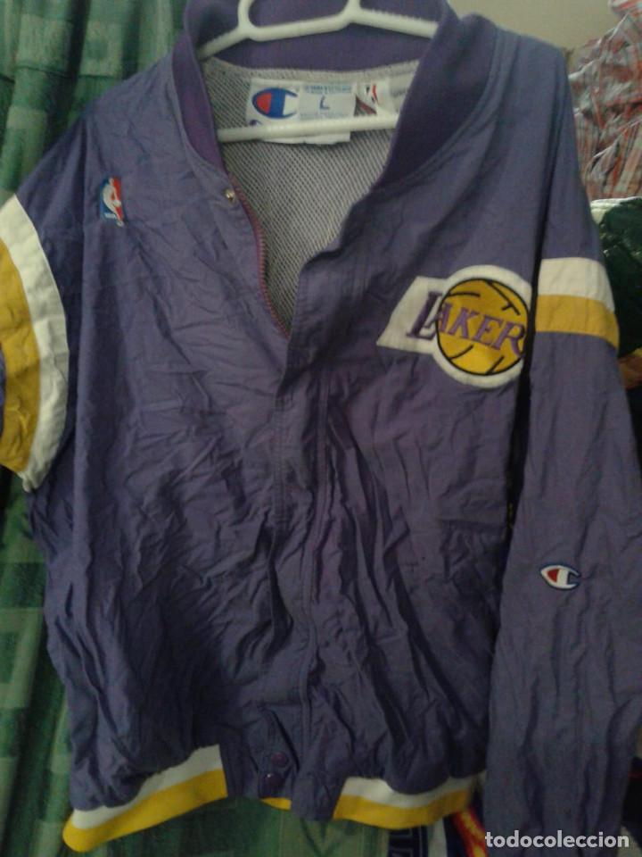 mejor baratas Precio pagable mejor sitio Lakers vintage nba jacket rap hip hop chaqueta - Sold ...
