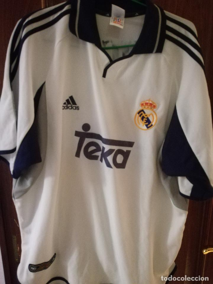 on sale ec1c1 30af1 LUIS FIGO REAL MADRID XL Camiseta futbol football shirt