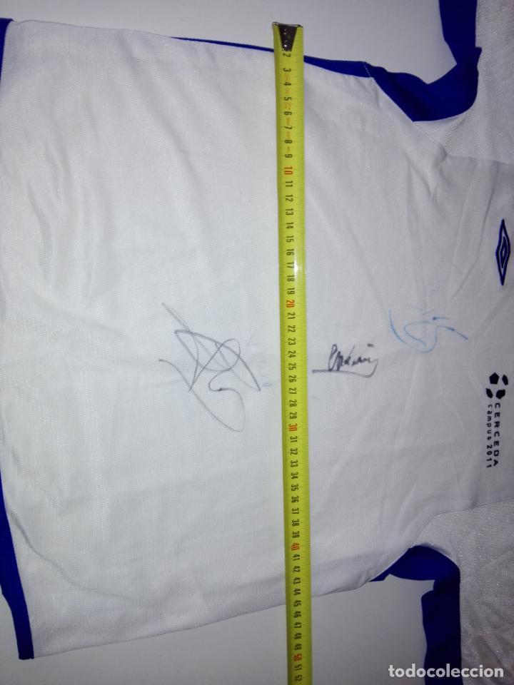 Coleccionismo deportivo: CAMISETA-CAMPUS 2011-CERCEDA-CON AUTOGRAFOS-BUEN ESTADO-VER FOTOS - Foto 5 - 150848618