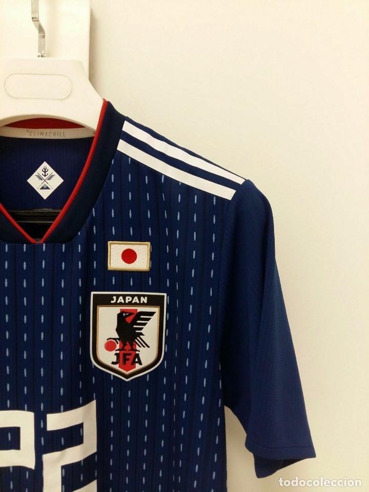 Fußballnationalmannschafts-Trikots Camiseta shirt match worn Selección Japón 2018 Maya Yoshida