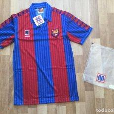 Coleccionismo deportivo: FUTBOL CAMISETA ORIGINAL F.C. BARCELONA MARCA MEYBA TALLA 1. BARÇA 1992 DIFICIL. Lote 151234042