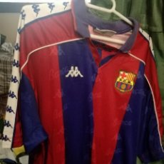 Coleccionismo deportivo: FC BARCELONA MATCH WORN XL FOOTBALL FUTBOL CAMISETA SHIRT. Lote 152194741