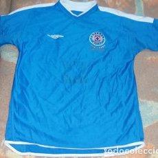 Coleccionismo deportivo: RARA CAMISETA CRUZ AZUL MEXICO REVERSIBLE 40 AÑOS EN PRIMERA DIVISION UMBRO. Lote 151538890