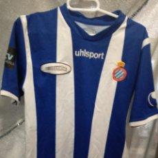 Coleccionismo deportivo: RCD ESPANYOL MATCH WORN S ALEVIN CAMISETA FUTBOL FOOTBALL SHIRT . Lote 151904138