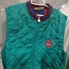 Coleccionismo deportivo: FC BARCELONA 1994 RARE JACKET CHALECO CHAQUETA EQU M CAMISETA FUTBOL FOOTBALL SHIRT . Lote 151904298