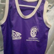 Coleccionismo deportivo: INSTITUCIO MONTSERRAT XXS BASKET BASQUET CAMISETA SHIRT . Lote 151905126