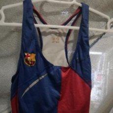 Coleccionismo deportivo: ATLETISMO FC BARCELONA CHICA MUJER CAMISETA PETO TOP M . Lote 151905658