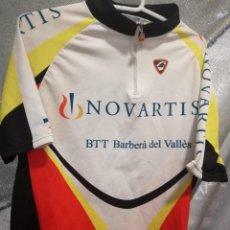 Coleccionismo deportivo: MAILLOT CICLISMO CICLISTA NOVARTIS XL . Lote 151905870