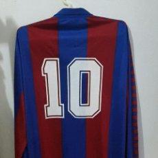 Coleccionismo deportivo: MEYBA F.C BARCELONA CAMISETA MATCH WORN SHIRT. Lote 151916686