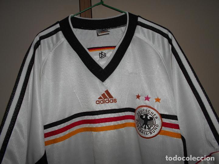 Coleccionismo deportivo: FUTBOL Camiseta Original SELECCION ALEMANIA marca ADIDAS Antigua ALEMANA - Foto 2 - 152141234