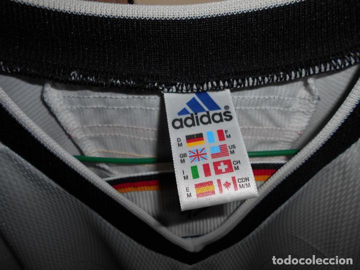 Coleccionismo deportivo: FUTBOL Camiseta Original SELECCION ALEMANIA marca ADIDAS Antigua ALEMANA - Foto 3 - 152141234