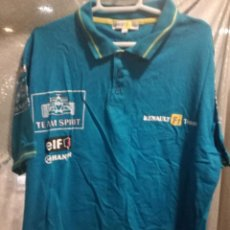 Collectionnisme sportif: RENAULT F1 ALONSO POLO RACING F1 CAMISETA L . Lote 152175206