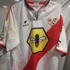 Coleccionismo deportivo: RAYO VALLECANO CAMISETA FUTBOL FOOTBALL SHIRT XL . Lote 152177478