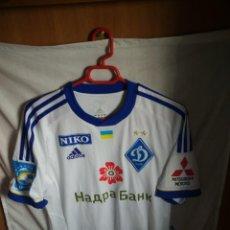 Coleccionismo deportivo: ORIGINAL | CAMISETA DE FUTBOL | TALLA S | DINAMO DE KIEV - 90 BELHANDA - MATCH WORN. Lote 152185834