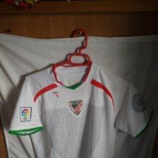 Coleccionismo deportivo: ORIGINAL | CAMISETA DE FUTBOL | TALLA 14 - S | ATHLETIC CLUB DE BILBAO - 23 ADURIZ. Lote 152186570