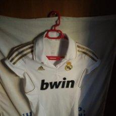 Coleccionismo deportivo: ORIGINAL | CAMISETA DE FUTBOL | TALLA S (MODELO MUJER) | REAL MADRID. Lote 152191470