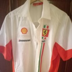 Collectionnisme sportif: CAMISA FERRARI RACING F1 L . Lote 152640802